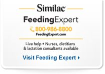Similac-- even if you plan to breastfeed, if you sign up, they will send you free products, advice and coupons.