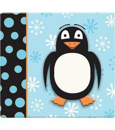 """3D Scrapbook 12""""x12-Penguin, , hi-res"""
