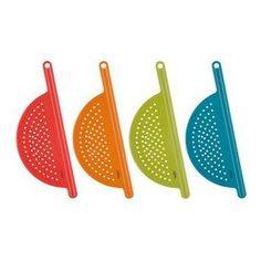 Trueau Pot Strainer:  I LOVE this.  A quick and easy way to strain foods right from the pot.  Easy to clean, can be used on a variety of pots, and stores flat or you can hang it inside a cupboard.