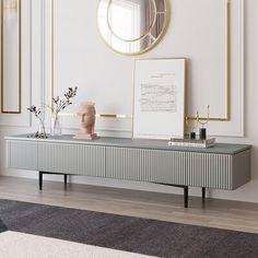 Living Room Tv, Living Room Furniture, Home Furniture, Furniture Design, Furniture Projects, Console Furniture, Media Furniture, Modern Furniture, Wall Cabinets Living Room