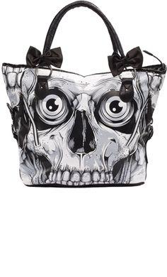 IRON FIST BONEBREAKER BAG @ sourpuss clothing $45