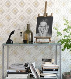 Interior Design Classic, Retro | EarthTwo Wallpaper by Eco | Jane Clayton