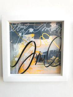 """Ochre"" Diptych Original Art Technique: Acrylic below a sheet of acrylic Dimensions: x x 3 cm Abstract Expressionism, Abstract Art, Acrylic Sheets, Cursive, Art Techniques, Art Studios, Graphic Art, Original Art, The Originals"
