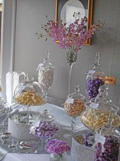 How to Create the Ultimate DIY Candy Table - modified for a candy bar?