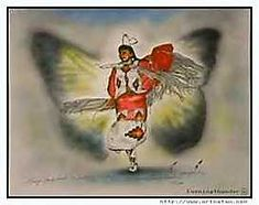 Cherokee Legend of the Butterfly Dance....♥ Ladies Fancy Shawl Dance is a representation of the Butterfly Legend