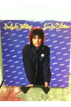 Dwight Twilley Scuba Divers 12 Inch Vinyl Record