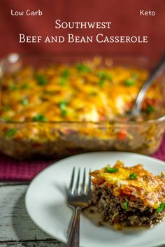 low carb keto beef black soy bean casserole-recipe