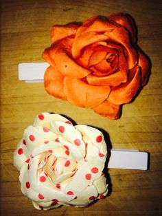 Flower clothespins by thisisourname on Etsy, $5.00