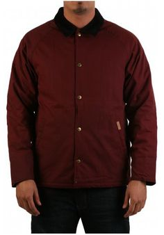5e9060d26fd Carhartt James Burgundy  Jacket is perfect for the Autumn months.
