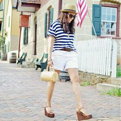 Real Girl Outfit Ideas For Women Over 40 via @WhoWhatWear