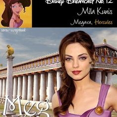 Disney princess look-alike.