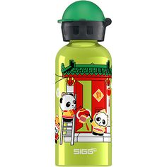 Panda school supplies: Lantern Panda SIGG water bottle