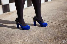 #OOTD: Something Borrowed, Something Blue featuring looks from Torrid & Ashley Stewart Model/Stylist: Melissa W, www.fabglance.com Photographer: Patrick Webster