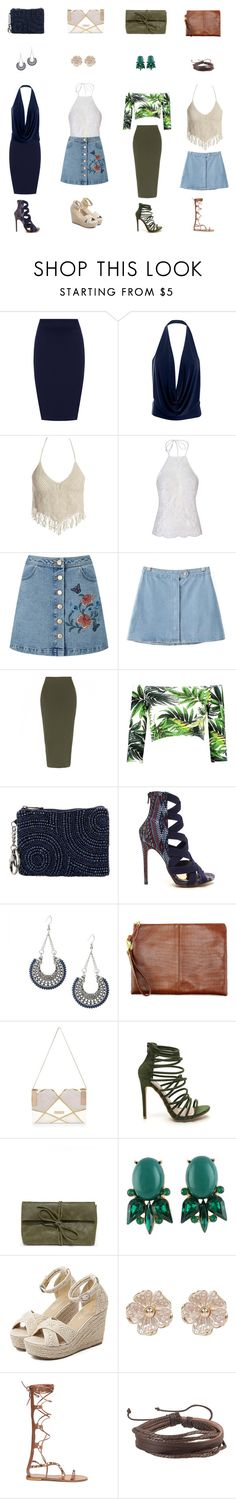 """""""Untitled #230"""" by susy-1697 ❤ liked on Polyvore featuring WearAll, Sans Souci, WithChic, Miss Selfridge, Chicnova Fashion, Mary Frances Accessories, River Island, LULUS, Zodaca and halterdresses"""