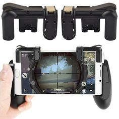 For PUBG Mobile Gaming Trigger Button Game Shooter Controller Mobile Games Smartphone for phone/ipad Xiaomi Mobiles, Joystick, Iphone Android, Button Game, Survival, Mobile Gadgets, Phone Games, Best Mobile, Game Controller