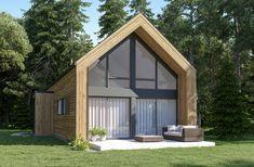 Porche, Cottage Design, House Plans, Shed, Outdoor Structures, Patio, Inspirer, Dom, Ideas
