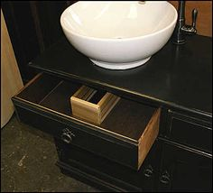 bowl sink - drawer