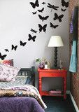 Wall Stickers like these butterflies are great and easy to place in your apartment home. Perfect for your room, living room, or even hallway.http://www.redoakproperties.com/