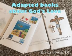 Free Printables: God's Love - Adapted and Interactive Books for Special Needs Ministry