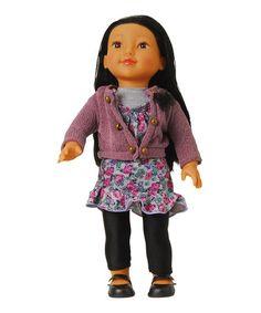 Look what I found on #zulily! 18'' Mia Doll #zulilyfinds