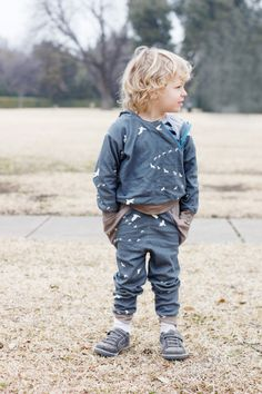 Triangle Pantts sewing pattern for boys by See Kate Sew | The best sewing patterns for women, girls, toys and more. Go To Patterns & Co.