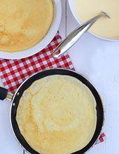 Sprawdzone przepisy na naleśniki Banana Pudding Recipes, Polish Recipes, Polish Food, Tzatziki, Brie, Cornbread, Pancakes, Recipies, Food And Drink