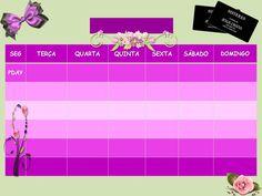 Calendário de Almoço para as sisteres sem data
