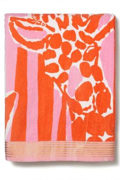 Lilly Pulitzer for Target Beach Towel - Giraffeey, $25, available at Target. #refinery29 http://www.refinery29.com/2015/04/84530/lilly-pulitzer-target-collaboration-lookbook#slide-145