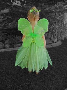 Vestido de Campanita por BITSnSCRAPS en Etsy
