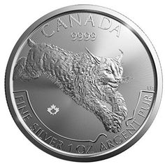 2017 Royal Canadian MINT Silver Predator Series Lynx 1 Oz Silver Coin for sale online Maple Leaf, Silver Coins For Sale, Mint, Silver Bullion, Canadian Artists, 1 Oz, Precious Metals, Two By Two, Predator Series