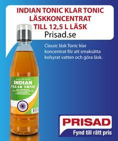 Classic läsk Tonic klar koncentrat för att smaksätta kolsyrat vatten och göra läsk.