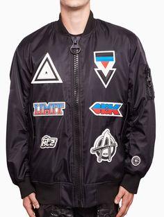 Bomber jacket from S/S2016 KTZ Kokon To Zai