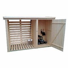 Want to find out about bike shed plans? Then this is definitely the right place! Outdoor Firewood Rack, Firewood Shed, Firewood Storage, Outdoor Storage Sheds, Shed Storage, Backyard Sheds, Backyard Patio, Bbq Shed, Lean To Shed