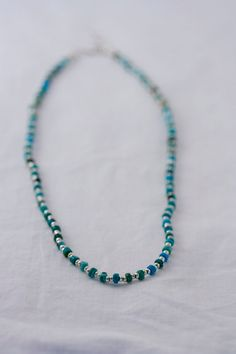 Turquoise & Silver Choker/ Necklace
