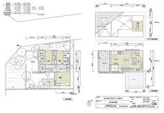 近江・下田のゲストハウス 設計:伊礼智設計室(伊礼智 一場由美) 施工:谷口工務店 家具デザイン:伊礼智 造園:荻野寿也 写真:西川公朗 ... Interior Design Layout, Layout Design, House Plans, Kids Room, Floor Plans, Diagram, Sketches, How To Plan, Architecture
