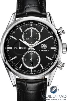 Discover the universe of TAG Heuer Carrera watches, The classic yet contemporary sports watch inspired by car racing. TAG Heuer, Swiss avant-garde since Tag Heuer Carrera Chronograph, Tag Heuer Carrera Calibre, Sport Watches, Cool Watches, Men's Watches, Fancy Watches, Elegant Watches, Wrist Watches, Vintage Watches