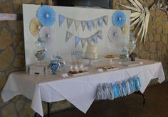 First Communion Baptism Party Ideas | Photo 1 of 16
