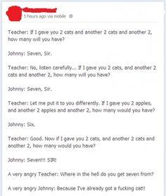 Johnny Strikes Again!