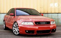 Audi B5 S4 on 18 inch Hartmann HRS4-DTM-GS wheels