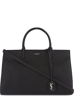 Saint Laurent Bags - Classic Monogram collection   more. SAINT LAURENT  Cabas Rive Gauche grained leather tote 9290c54c1d577