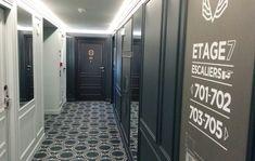 Couloir chambre - Hôtel Bachaumont