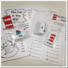The Cat in the Hat Reading and Literacy Unit preview