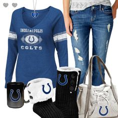 Indianapolis Colts Fashion - Cozy Colts Sunday