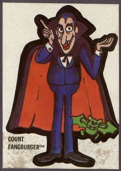 Count Fangburger from Burger Chef