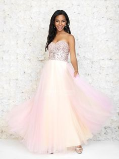 A-line Sweetheart With Beaded Bodice Tulle Prom Dress PD2845 Beaded Prom  Dress 93fa5c98a4d7