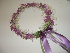 Flower Girl Fairy Garden Head Wreath by njluvdolls on Etsy, $35.00