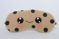 Cute!! Chocolate Chip Cookie Sleeping Mask, Travel Mask