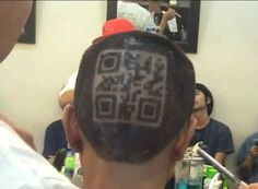 yahahahh i dare you. read it. Animal Crossing QR code. On the back of some dude's head.   24 Rudest Things In Animal Crossing