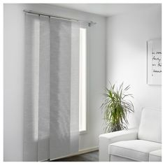 lillerd panel curtain ikea a panel curtain is ideal to use in a layered window solution to divide rooms or to cover open storage solutions - Door Panel Curtains
