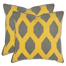 Butcombe Cotton Throw Pillow (Set of 2)